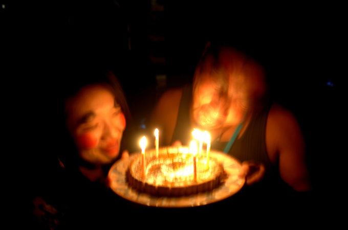スタッフの誕生日パーティ