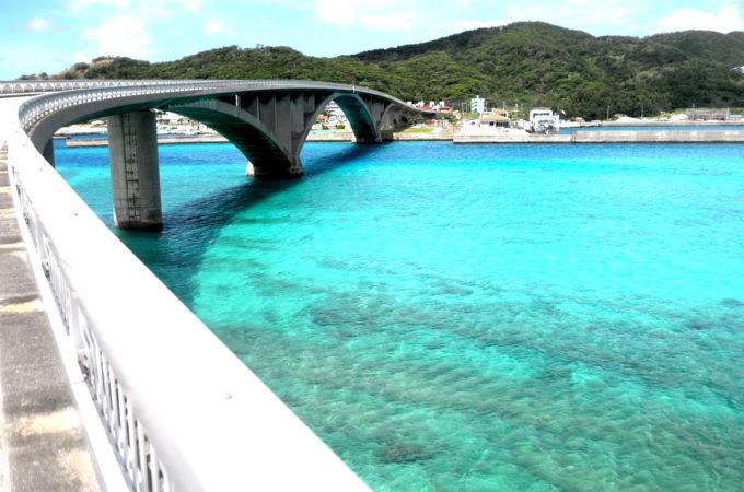 阿嘉大橋からの眺め