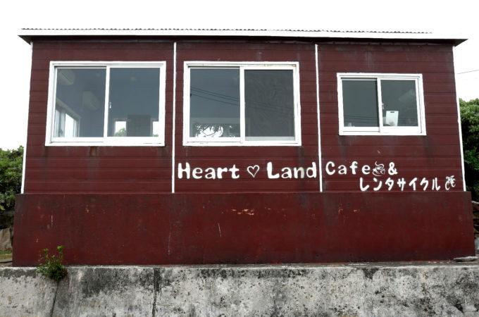 港の正面にあるカフェ&レンタサイクル店