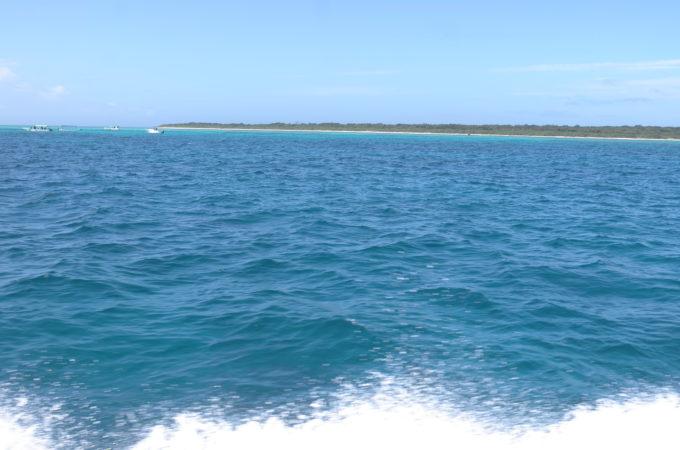 海から見た黒島