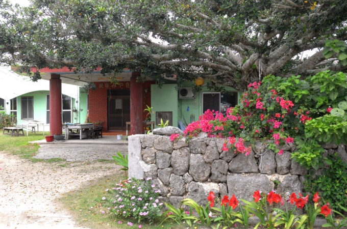 黒島の民宿