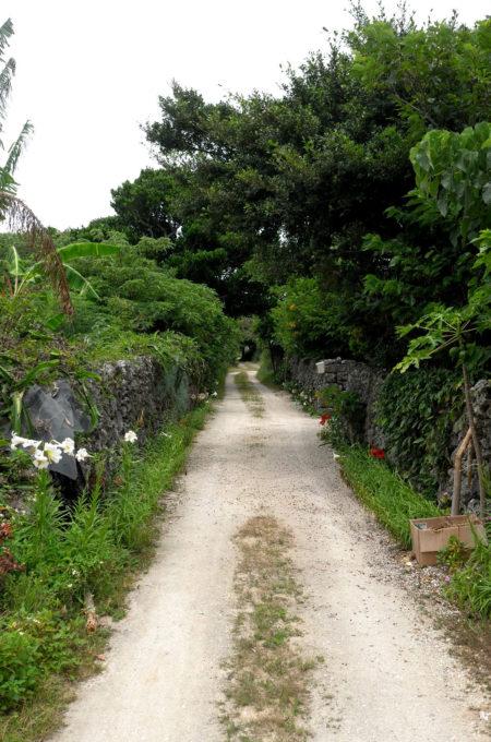 黒島の路地