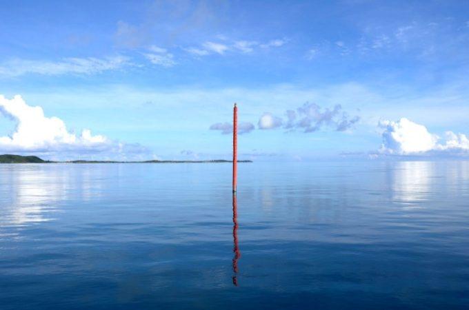 大神島近くの海