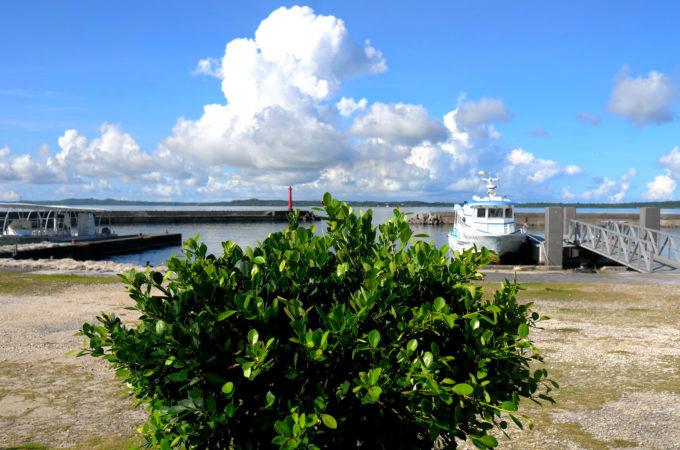 大神島の港