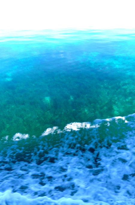 幻想的な波の動き