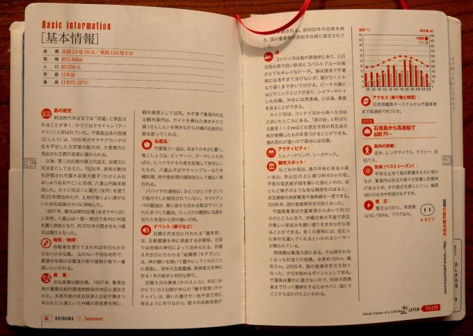 『人生を変える南の島々。日本編』竹富島基本情報ページ