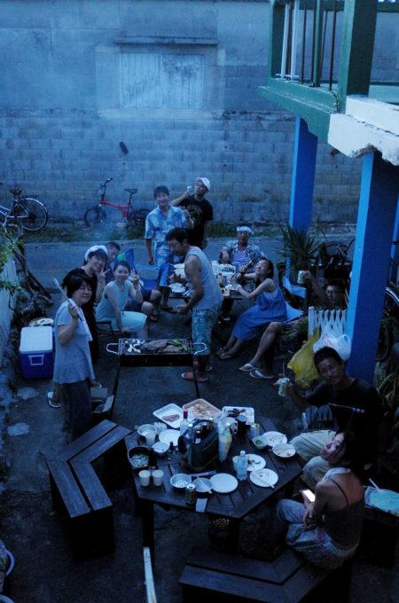 「カサ・デ・アマカ」バーベキューパーティ