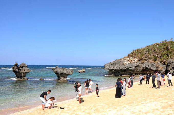 古宇利島のティーヌ浜