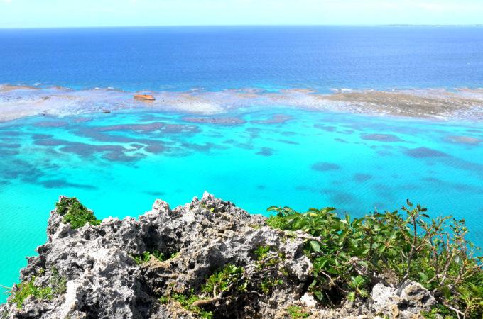 「イグアナ岩」からの眺望