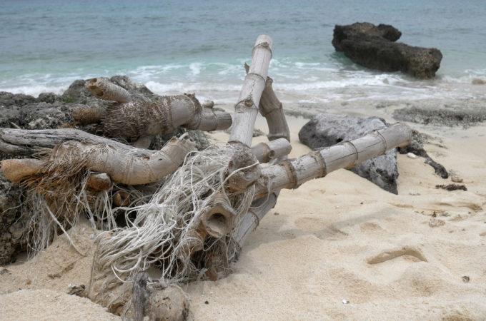 池間ロープ(カギンミ浜)