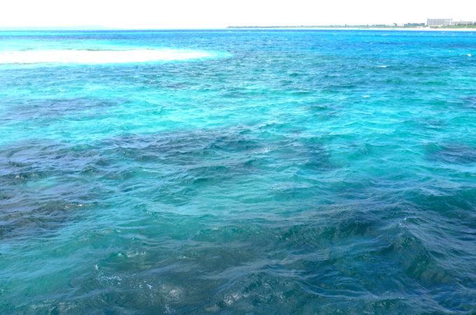 来間島から見た前浜