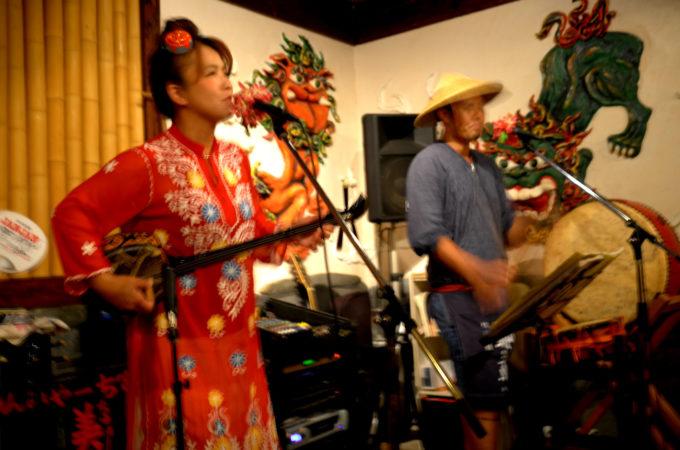 宮古島の民謡酒場ライブ