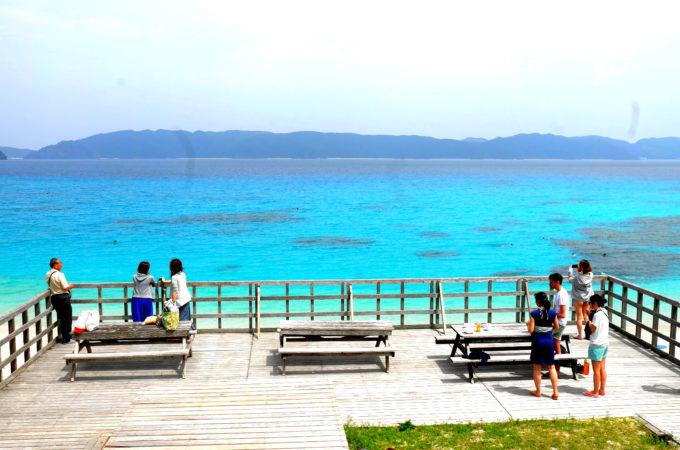 座間味島の古座間味ビーチ