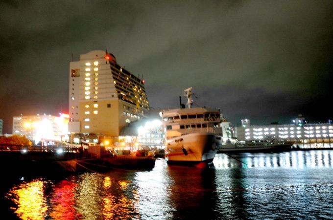 泊港の夜景