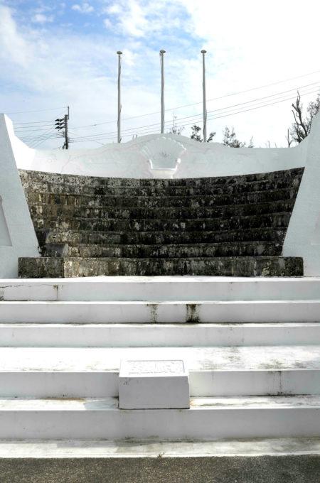 ギリシアのスタジアム風建物