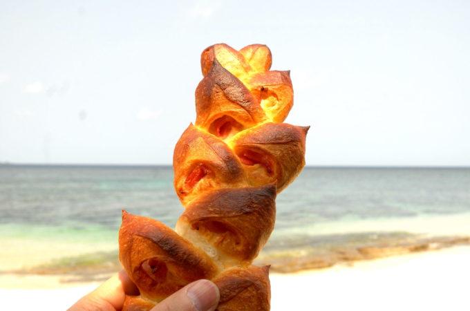 「トミー」のベーコンフランスパン