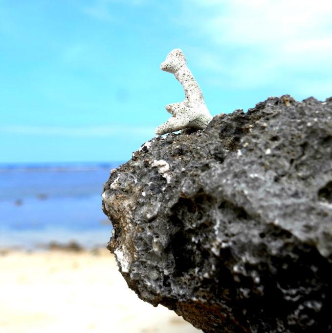 Art on Beach 作品「沖縄一人旅」