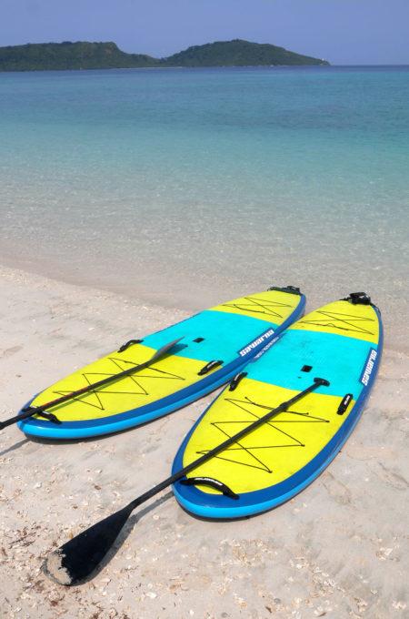 ビーチのサップボード