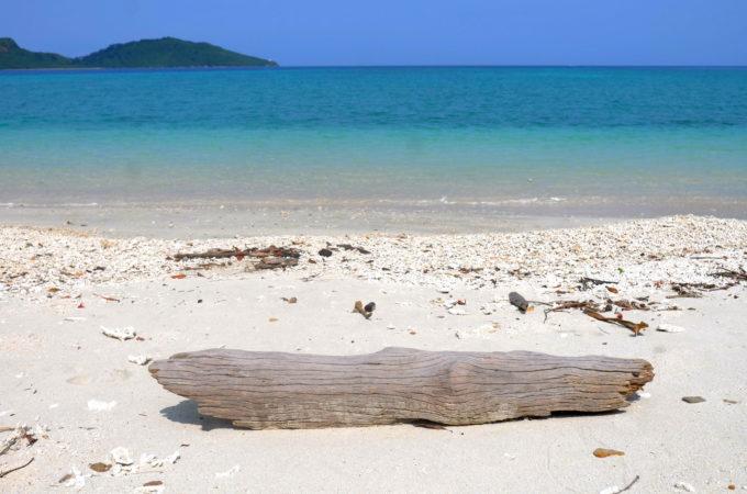 美しいイダの浜