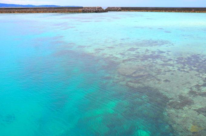 いとま浜の海