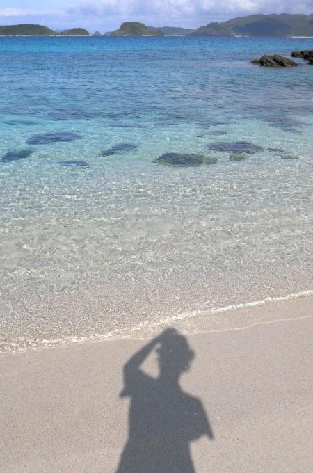 海の透明度がよくわかる写真