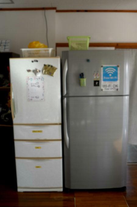 冷蔵庫は2台あります