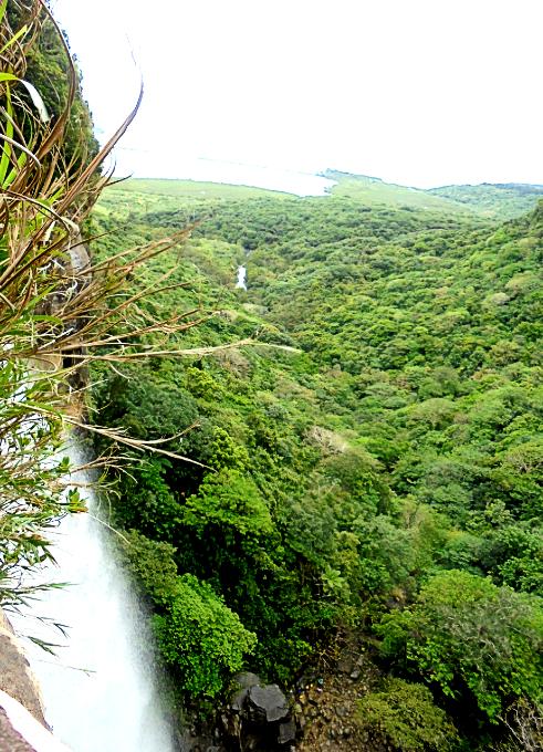 ピナイサーラの滝頂上からの眺め